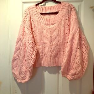 Bubblegum Pink Sweater